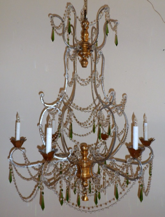 Tuscan Style Chandelier